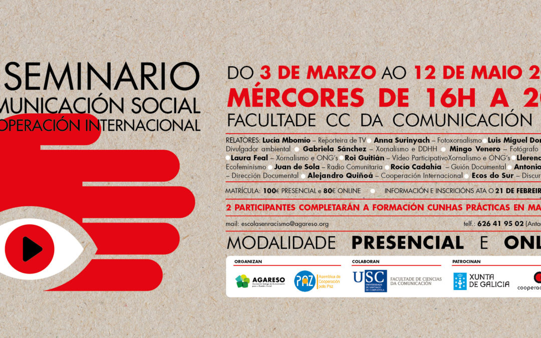 XI Seminario de Comunicación Social e Cooperación Internacional